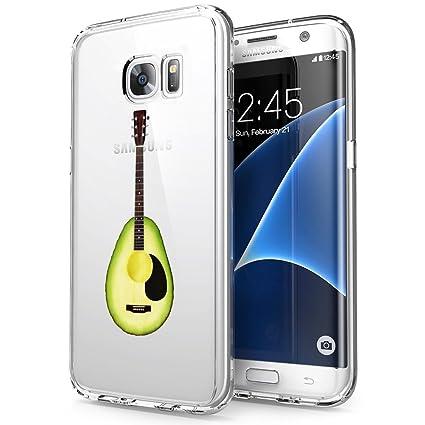 Amazon.com: Diseñado palmeras Samsung Galaxy S7 Funda ...