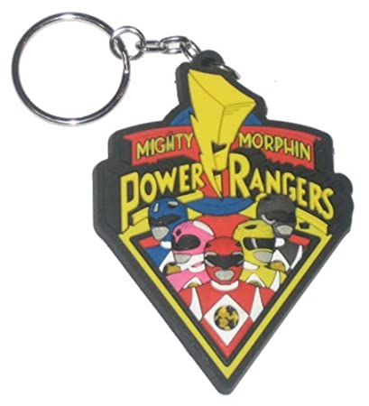 """Mighty Morphin Power Rangers, Cast, 3"""" X 2"""", Officially ..."""