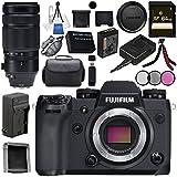 Fujifilm X-H1 Mirrorless Digital Camera (Body Only) 16568731 XF 100-400mm f/4.5-5.6 R LM OIS WR Lens 16501109 Bundle