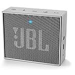 JBL GO Portable Wireless Bluetooth Speaker with Mic (Gray)