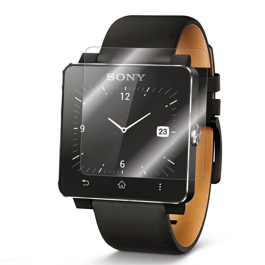 Protector de pantalla Cristal templado para Sony Smartwatch 2 Calidad HD, Grosor 0,3mm, Bordes redondeados 2,5D, alta resistencia a golpes 9H. No deja ...