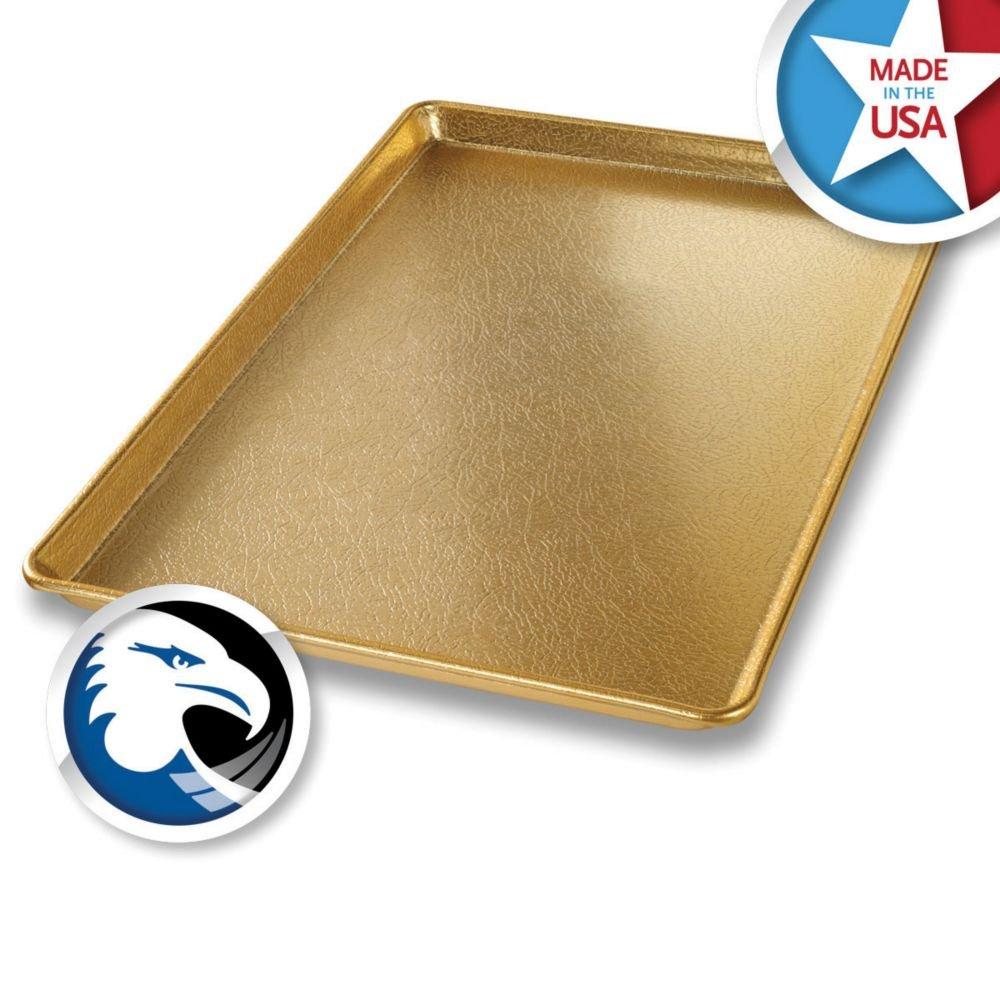 Display Pan,gold,aluminum,12x18 - CHICAGO METALLIC