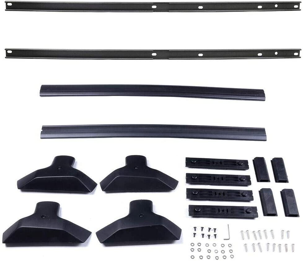 ANTS PART for 2009-2017 Chevy Traverse Pair Aluminum Roof Rack Rail Cross Bars Luggage Carrier