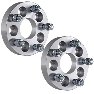 """ECCPP 2X 5 Lug Wheel Spacers 1"""" 5x100mm to 5x112mm 57.1 H.B Wheel Spacers Adapters fits for Audi Audi A2 A3 Volkwasgen with Conversion Studs 12x1.5: Automotive"""
