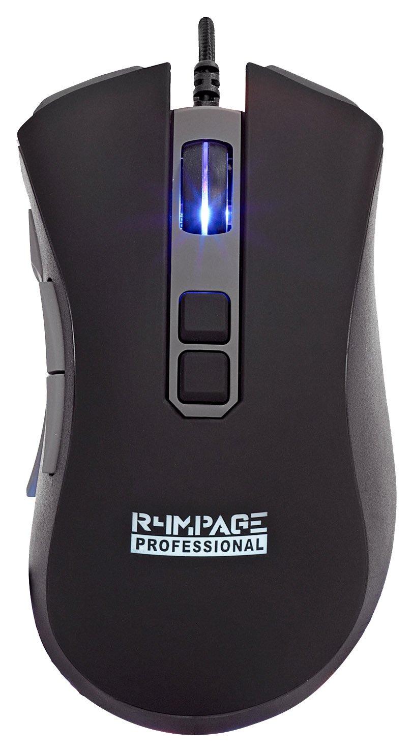 R4MPAGE RP-11200 Pro Professionelle Gaming Maus mit 10 programmierbare Taste