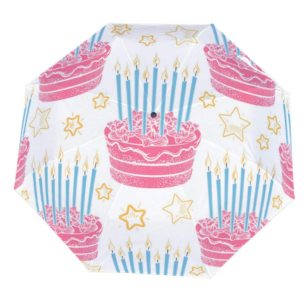 Prime Amazon Com Sara Nell Hand Drawn Birthday Cake Pattern Umbrellas Personalised Birthday Cards Veneteletsinfo