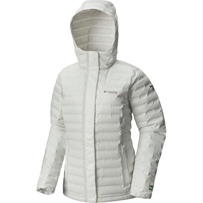 コロンビア アウター ジャケットブルゾン Outdry EX Eco Hooded Down Jacket Women White Undy o3b [並行輸入品] B076CDQ9PL L