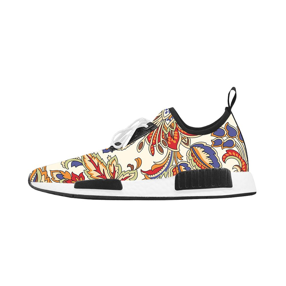 HSL Breathable Sports Shoes for Women Printed Shoes for Women Floral Jogging Running Sneaker for Women