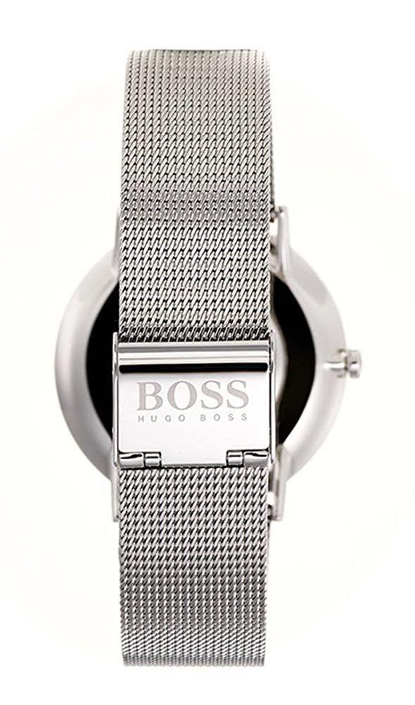 d3e65b099c23 Amazon.com  Hugo Boss Horizon Blue Dial Stainless Steel Men s Watch 1513541   Hugo Boss  Watches