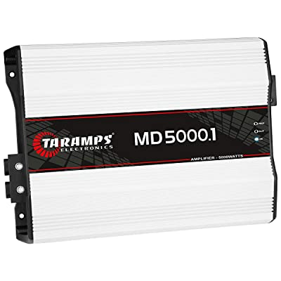 Taramp's MD 5000.1 1 Ohm 5000 Watts Class D Full Range Mono Amplifier