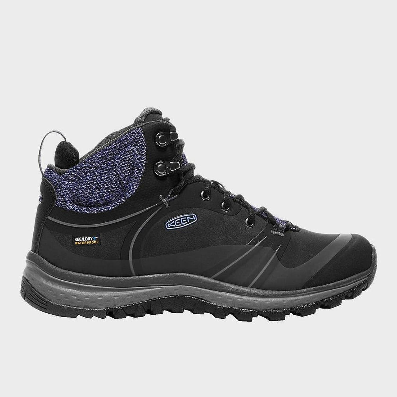 Keen(キーン) レディース 女性用 シューズ 靴 ブーツ ハイキングブーツ Terradora Pulse Mid Waterproof Black/Magnet [並行輸入品] B07BR6DHDX8.5 B Medium
