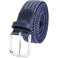 MIJIU Cinturón Elástico Banda Elástica Cinturón Táctico Pantalones Casuales Cinturón Hebilla Multicolor Hecha Punto Cinturón De Los Hombres