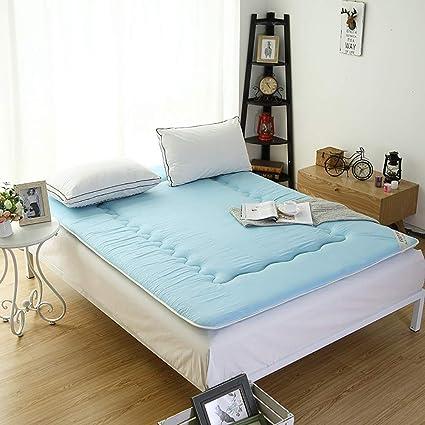 FUMT Plegable Esteras del Tatami,Estera de meditación Colchones Protector de colchón Cojines de colchón