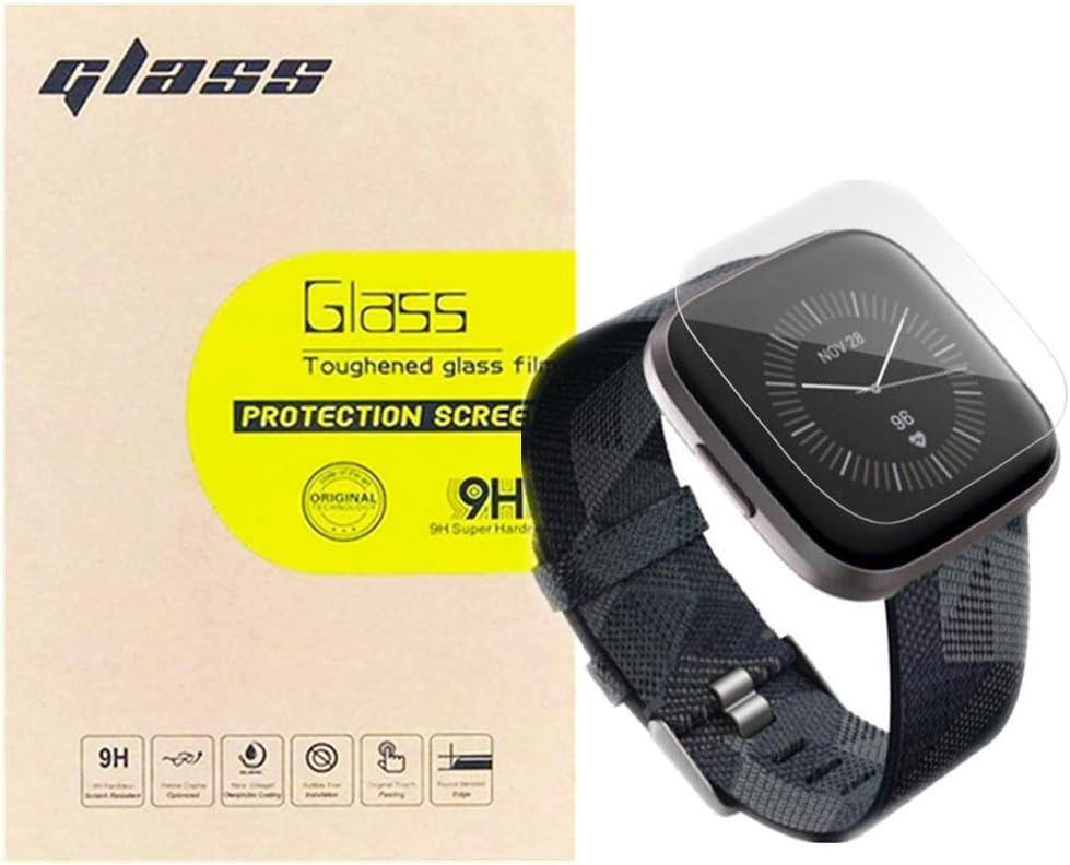 Protector de pantalla Cristal templado, Fitbit Versa 2.3un