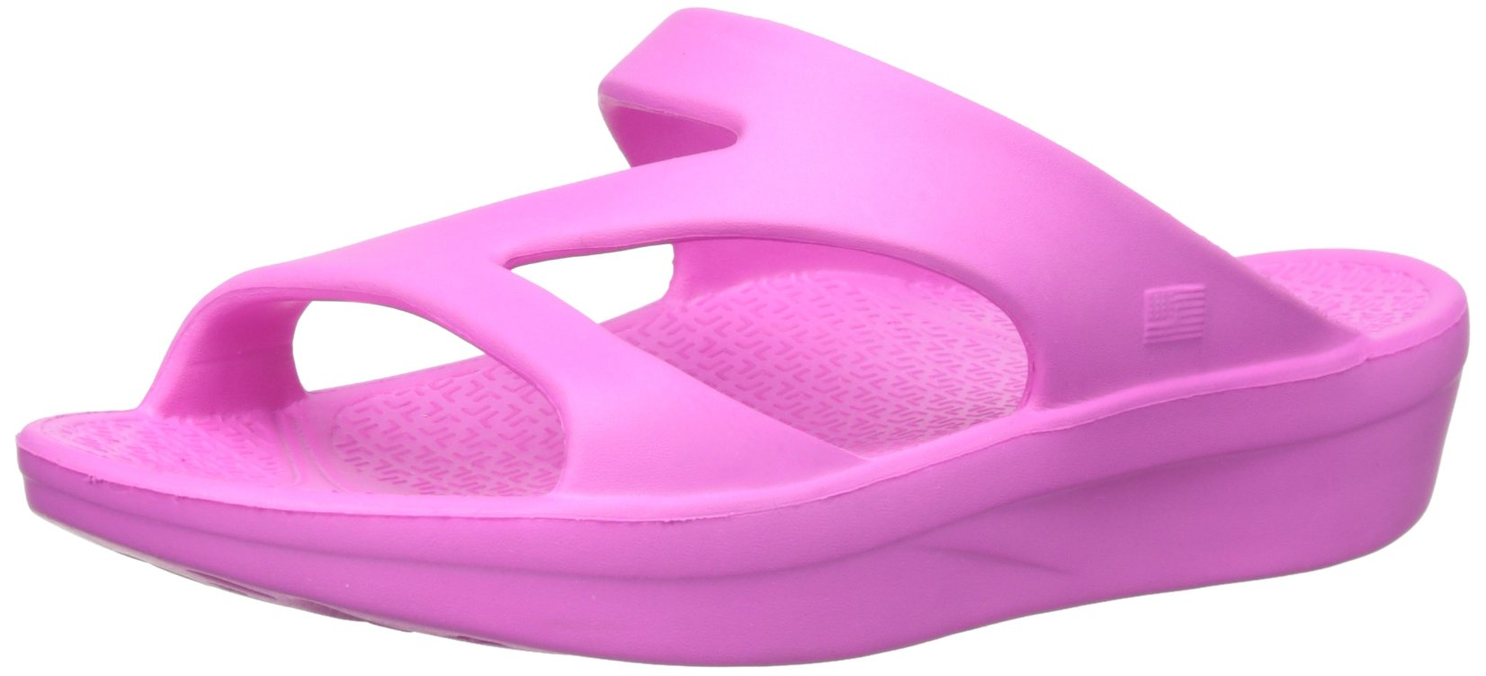 Telic Z-Strap Soft Sandal Shoe Footwear by, Pink Flamingo, S by Telic