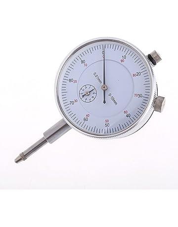 everpert herramienta de precisión 0,01 mm precisión instrumento de medición esfera Indicador Calibre