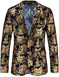 Amazon.com: Gold - Suits & Sport Coats / Clothing: Clothing, Shoes ...