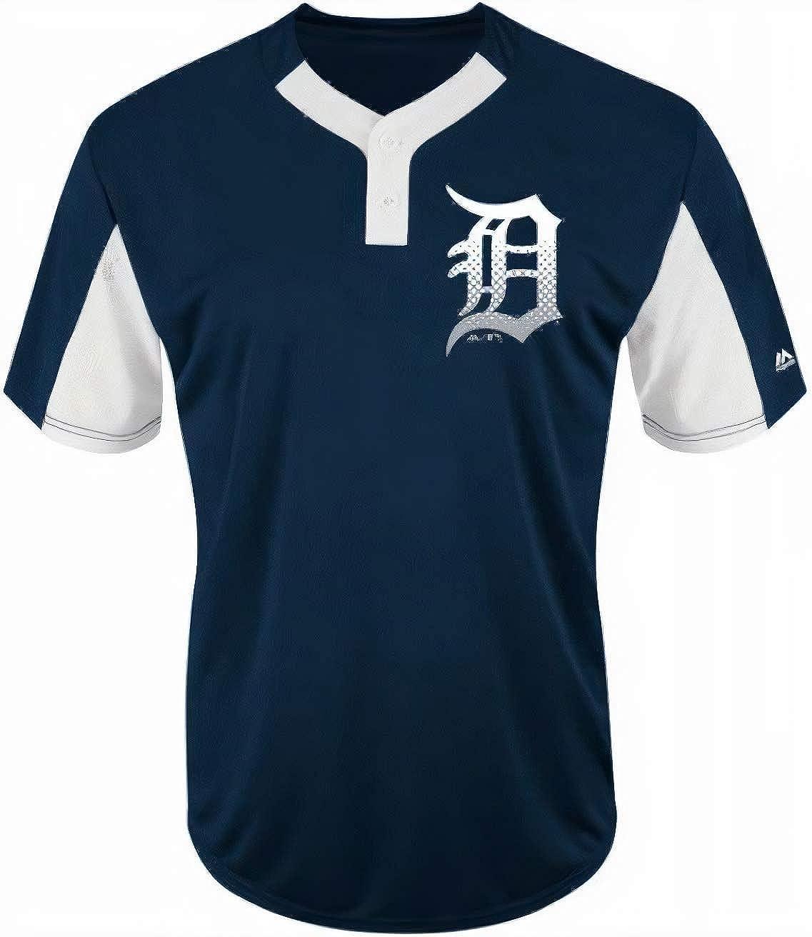 Majestic Detroit Tigers Premier Eagle Cool Base Mens 2-Button Jersey