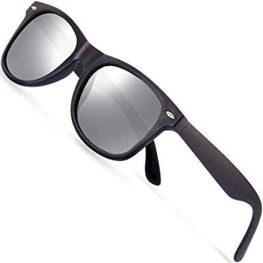 9be8863688d Polarized Sunglasses for Men Retro - FEIDU Polarized Retro Sunglasses for Men  FD2149 (silver)  Amazon.in  Clothing   Accessories