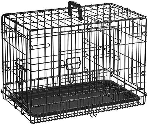 AmazonBasics Folding Metal Dog Crate 3