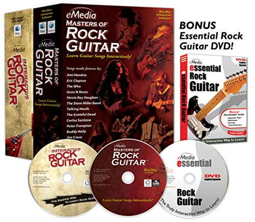 eMedia Rock Guitar Collection (2 volume set + Bonus DVD)