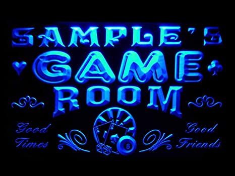 Amazon Com Advpro Pl Tm Name Personalized Custom Game Room Man Cave Bar Beer Neon Sign Home Kitchen