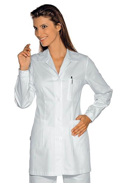 Isacco-túnica médica Marbella, color blanco blanco small