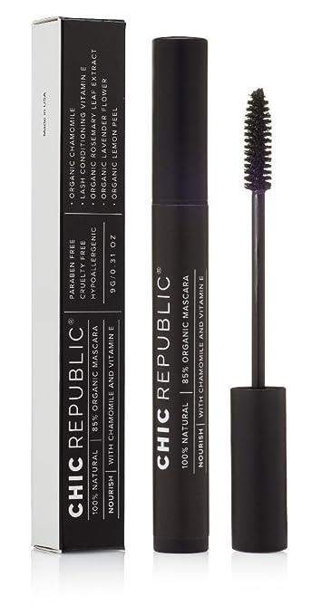 790d57ada16 All Natural Organic Mascara - 100% Natural - Non Toxic, Safe for Sensitive  Eyes