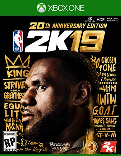 NBA 2K19 20th Anniversary Edition - Xbox One [Digital Code] by 2K Games