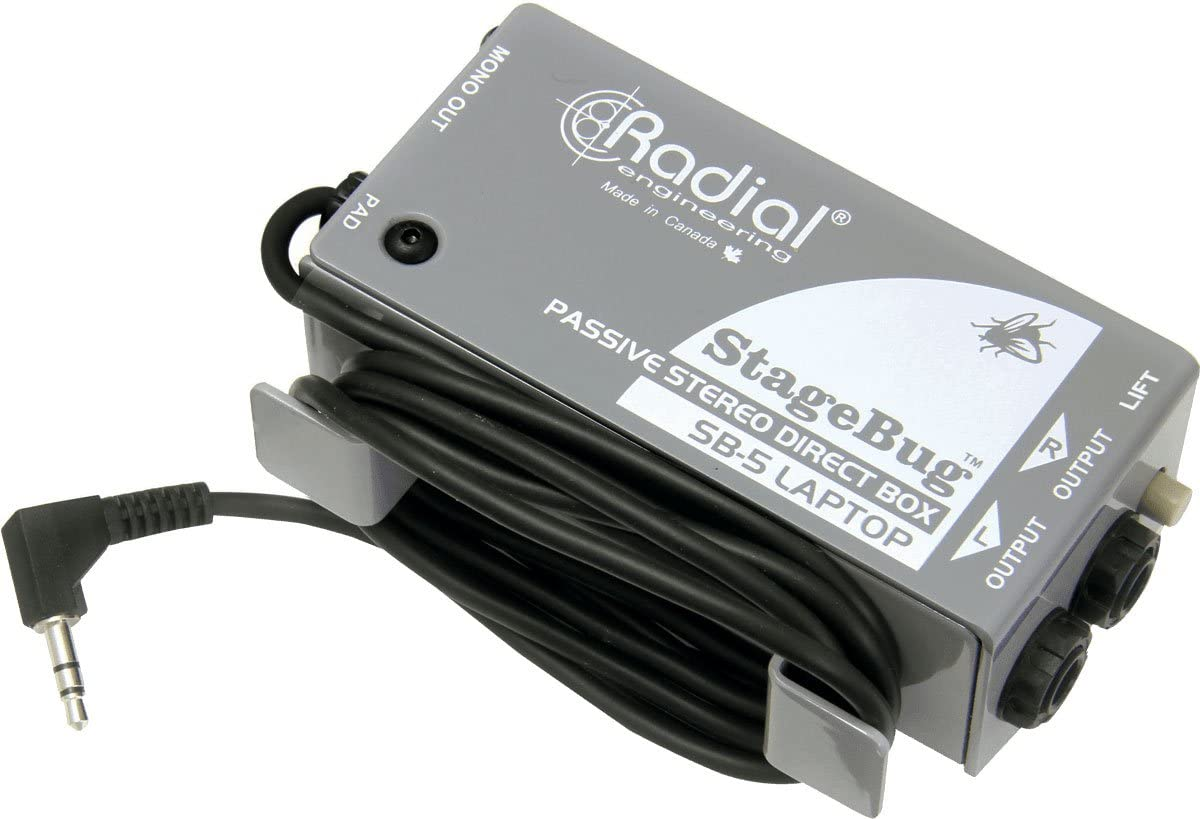Radial StageBug SB-5 1-channel Passive Laptop Direct Box