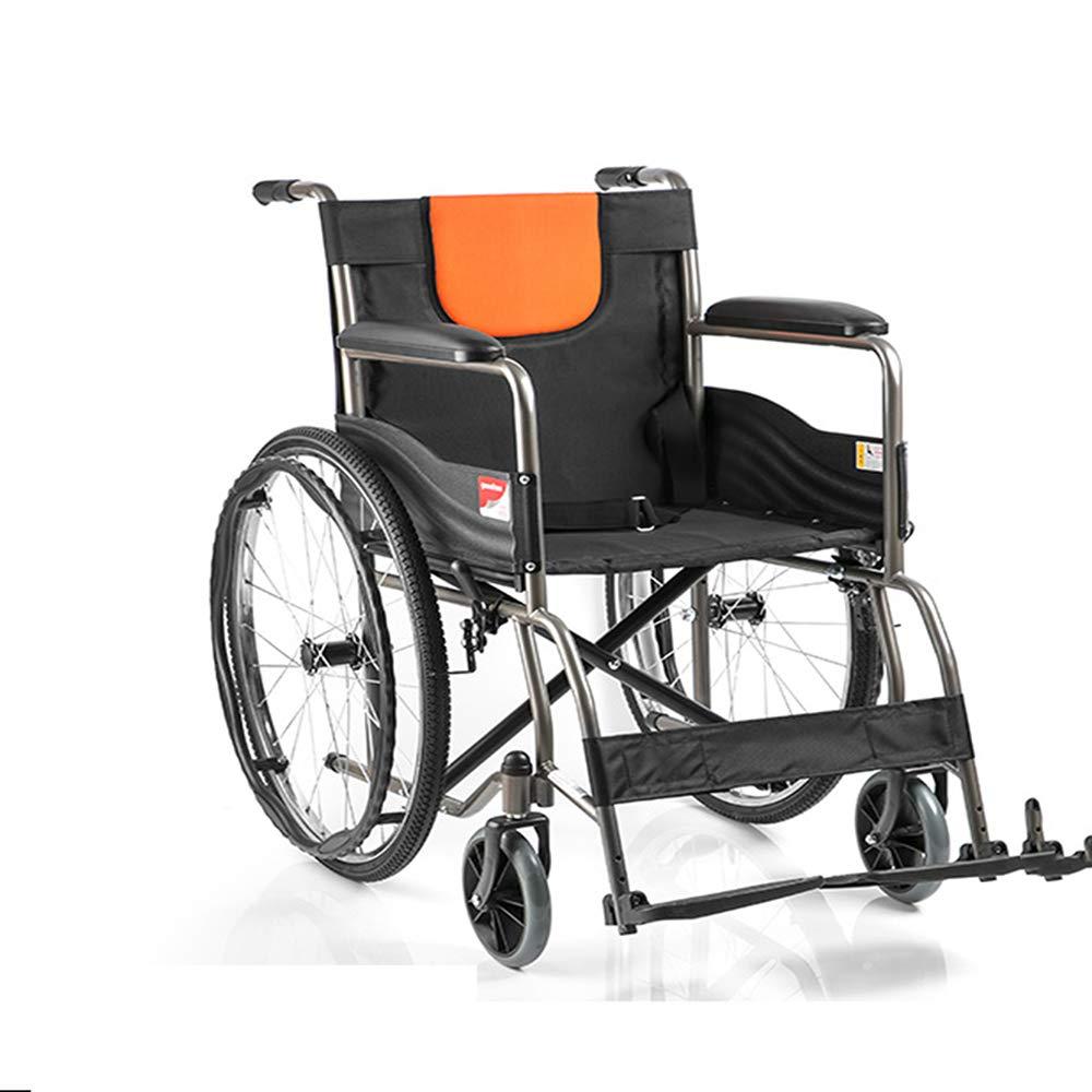 【お1人様1点限り】 Mldeng 自走用車椅子 軽量 折りたたみ式 スチール ノーパンクタイヤ 軽量 携帯バッ 携帯バッ グ付き コンパクト スチール 介助ブレーキ付き ギフト 介助 B07GWGZV9R, 真庭郡:935d21b2 --- a0267596.xsph.ru