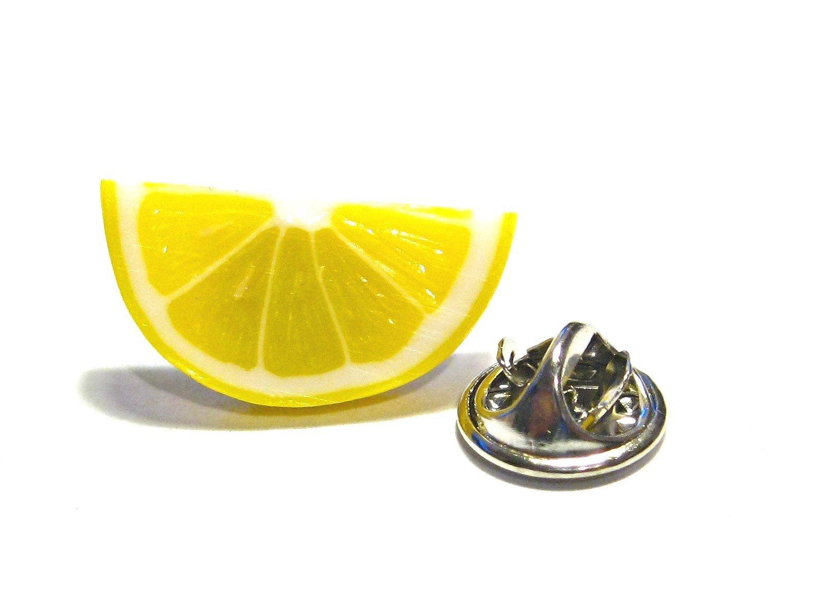 Lemon Pin - Tiny Food Jewelry