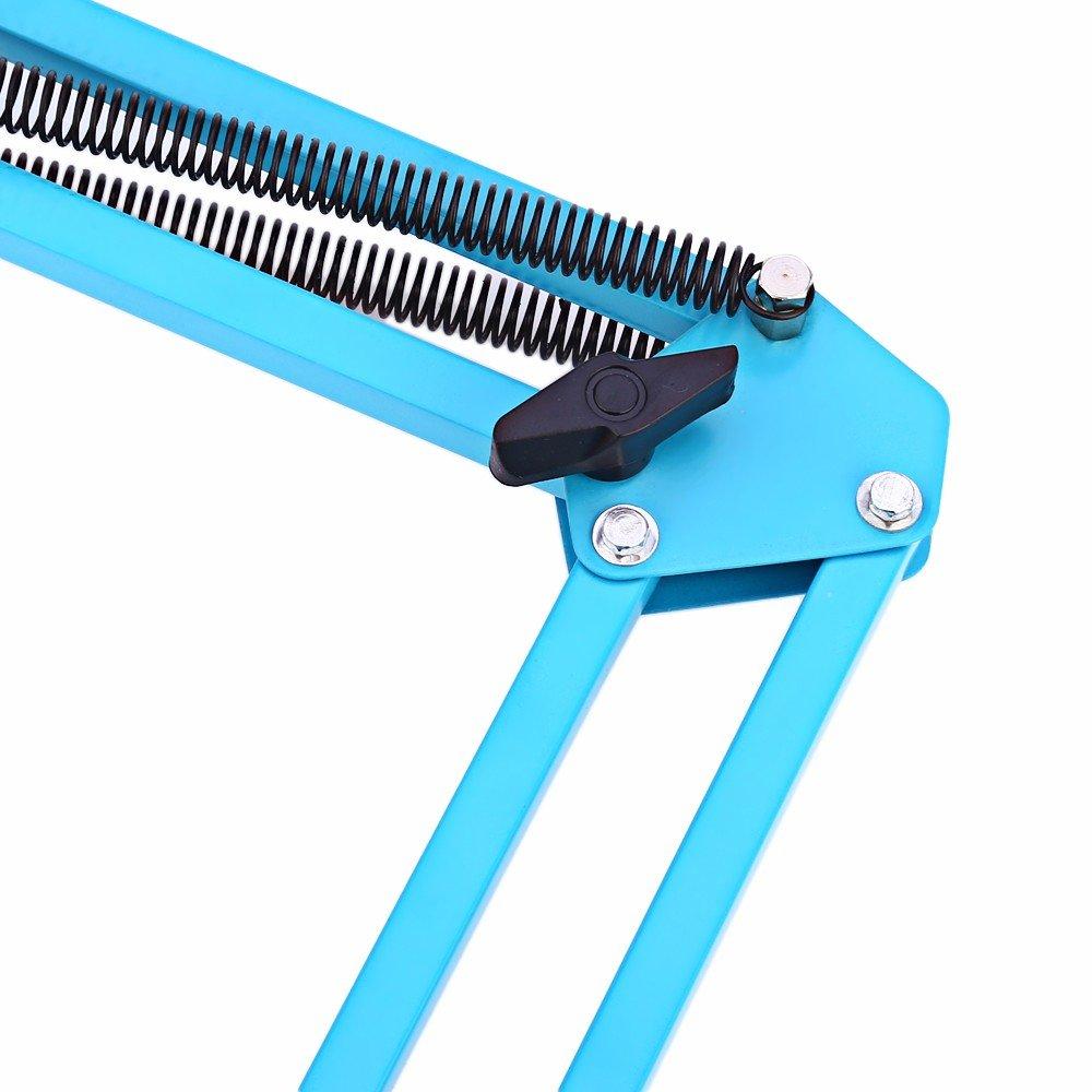 Desk Clamp Mount Suspension Boom Scissor Arm Tripod Stand Holder for Logitech Webcam C922 C930e C930 C920 C615-blue