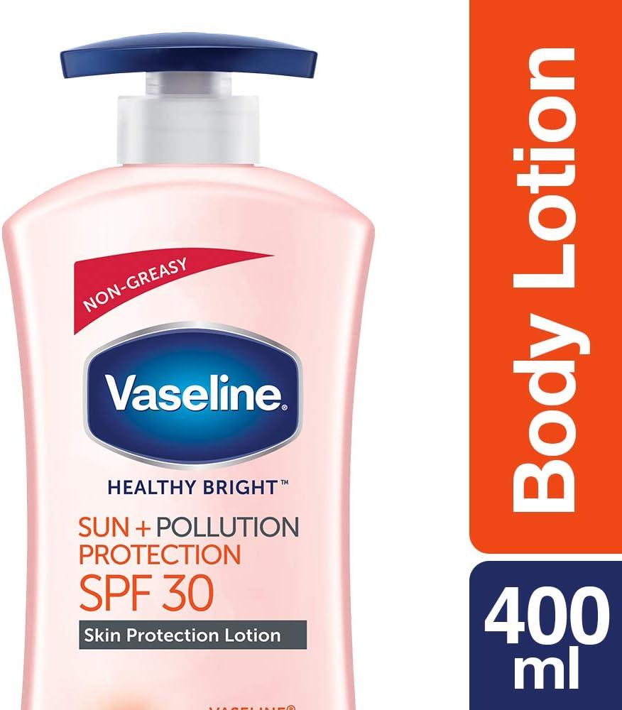 Vaseline Sun + Pollution Protection SPF 30 Body Lotion, 400 ml