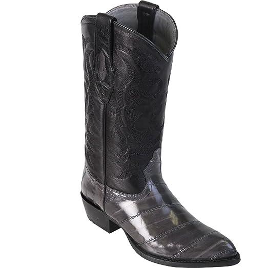 Original Grey Eel LeatherJ-Toe Boot