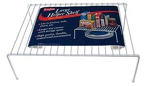 Panacea Grayline 40110, Large Kitchen Helper Shelf, White