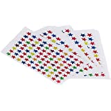 Magideal 880Pcs Star Shape Stickers Labels For School Kids Teacher Reward DIY Craft