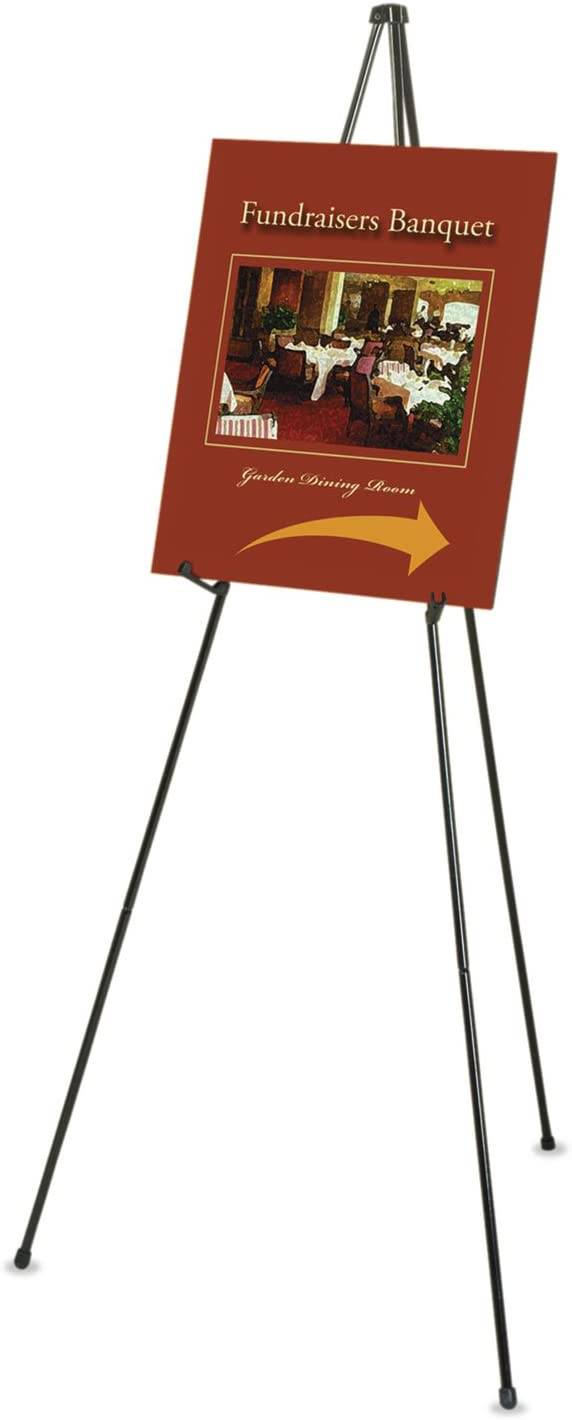 Tripod Base 63 Supports 10 lbs Quartet Heavy-Duty Instant Easel