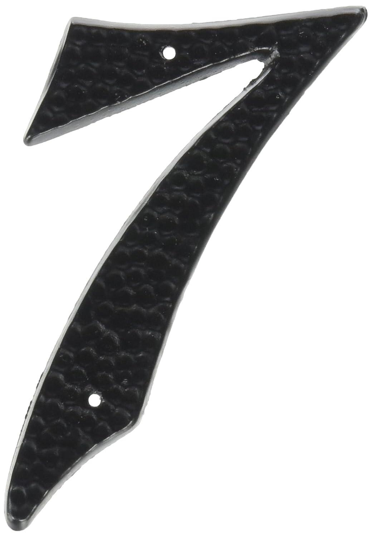 3-1/2 Black Die-Cast Aluminum Address Numbers