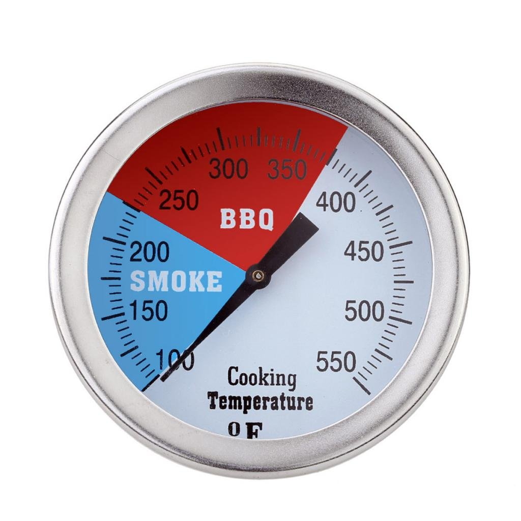 50mm 100-550°F Kitchen Oven Thermometer For BBQ Grill Meat Food Cooking Tool Generic