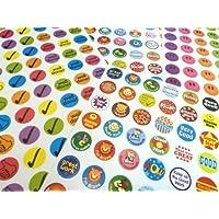 280 Childrens Reward Stickers for Kids Motivation , Merit / Praise School Teacher Labels (1)