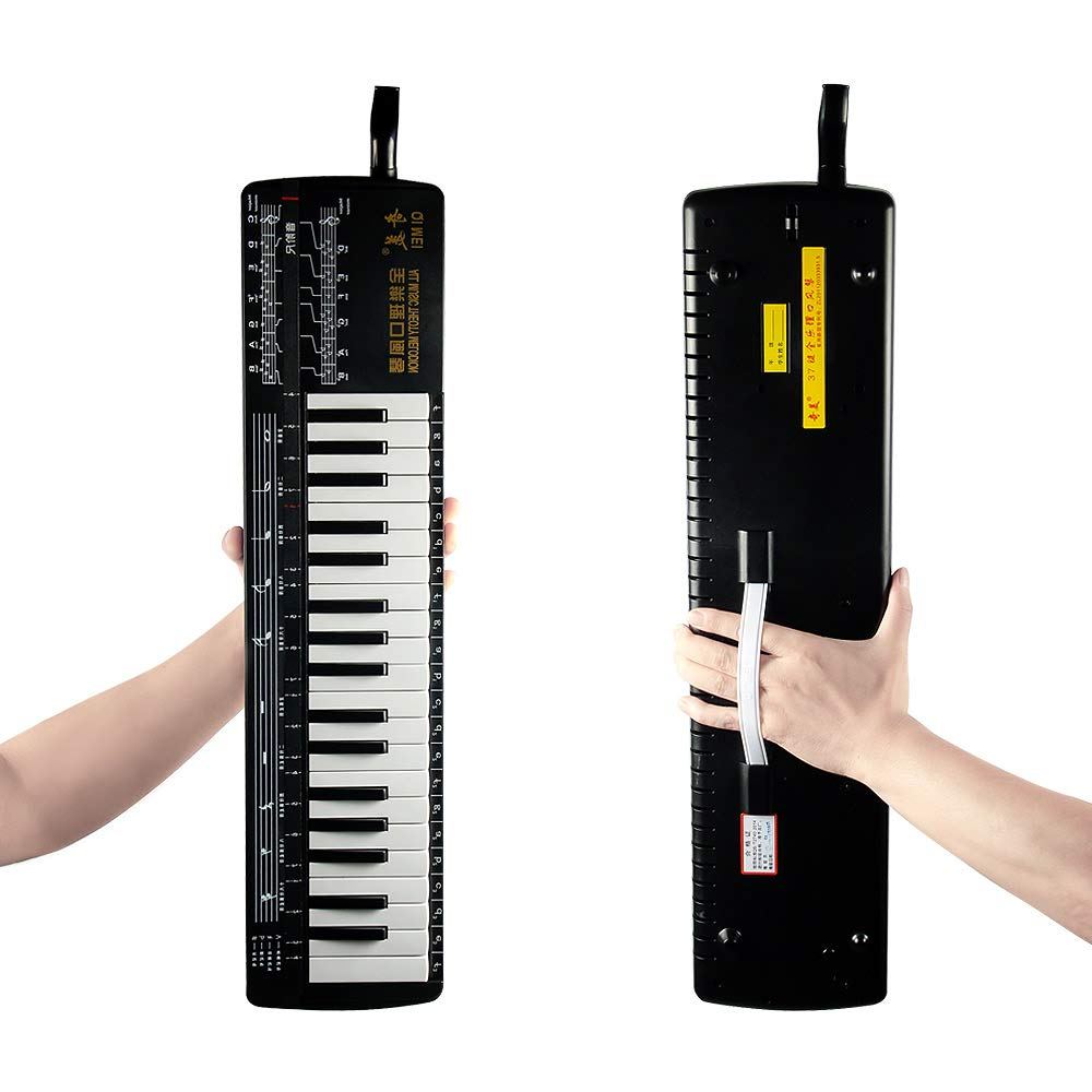 QIMEI 37-key All Music Theory Melodica soft case Playing Musical Instruments colmeia organizador