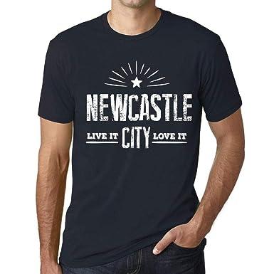 Hombre Camiseta Vintage T-Shirt Live It Love It Newcastle Marine ...