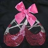 kilofly Ballerina Ballet Slippers Dance Bag + Handy