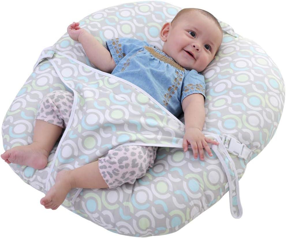 Healifty Almohada Cojín de Lactancia para Recién Nacidos Tumbona de Lactancia Almohada Anti-Escupir Ropa de Cama Almohada de Abrazo de Lactancia para Niño Pequeño