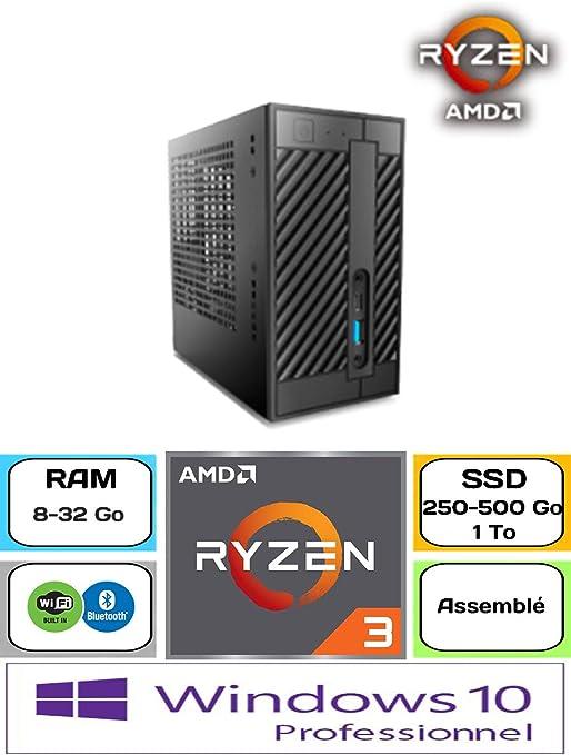 Asrock Deskmini A300 / Ryzen 3200 G/Windows 10 Pro / 250 GB SSD ...
