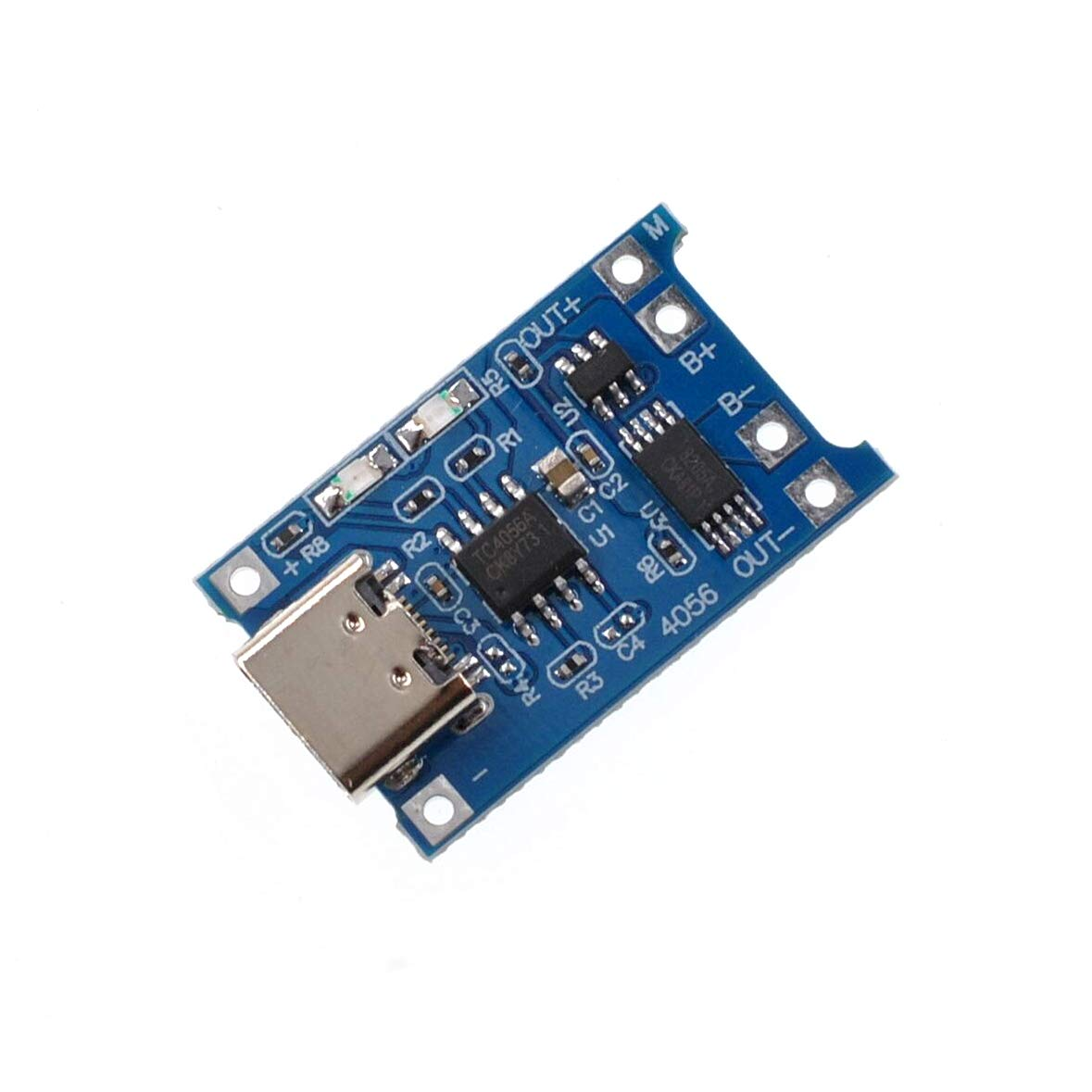 5Pcs Micro 5V 1A USB 18650 Lithium Battery Charging Board Charger Module with Dual Protection Functions