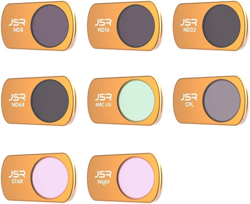 Globact Mavic Air 2 Lens Filter Set CPL ND8 ND16 for DJI Mavic Air 2 Drone 3pcs Lens Filter Set Multi Coated Filters Combo Camera Lens