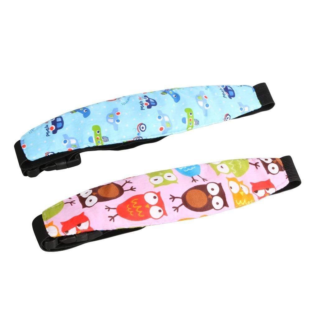 Varios Colores Paquete de 2 Uraqt Beb/és Soporte de la Cabeza para Cintur/ón de Seguridad de Coche