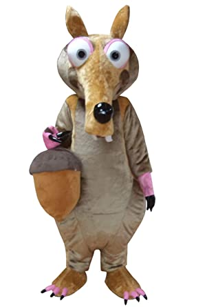 Costumeplus Disfraz de Ardilla para Halloween o para Adultos ...